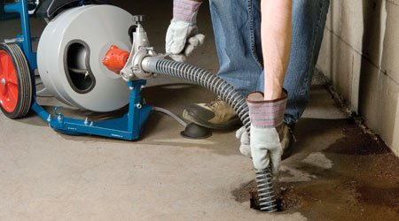 Baltimore drain cleaning job