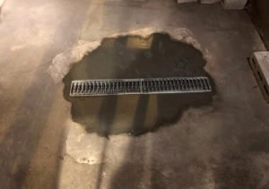 Drain install by a Frederick MD plumber